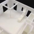 3D プリンター で建築模型を 製作しました。