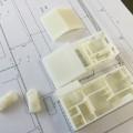 3D プリンターで建築模型 製作しました。