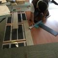 施工が簡単な床材。床暖対応で!! DIYにも最適かも。