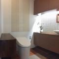 1坪のトイレ。事務所のトイレを素敵にリフォームしました。