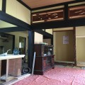 売り地に付いていた、古民家を改修。2