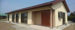 平屋の住宅。お引渡しいたしました。鹿児島県出水市