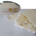 3Dプリンターで建築模型を印刷!!
